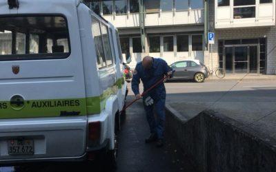 Nettoyage des locaux mai 2018