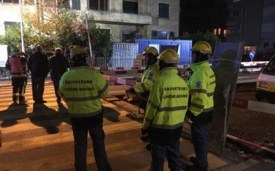 Exercice pompiers – sauveteurs du 15.11.2018